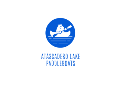 Atascadero Lake Paddleboats | Logo Design